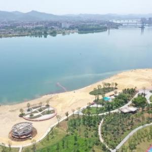好消息!襄阳鱼梁洲环岛景观带来了!